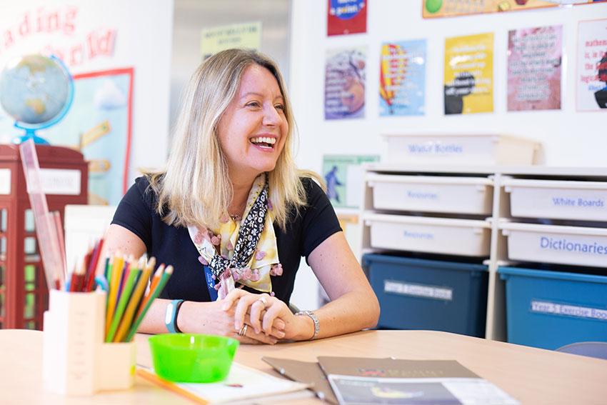 校長Lisa Milanec表示,香港凱莉山學校沿用英國母校學制,並加入本地元素。