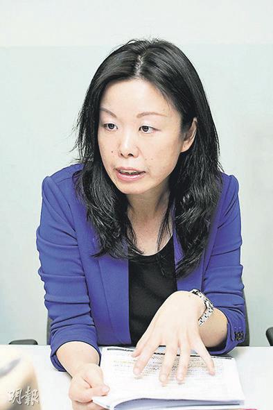 香港輔導教師協會副主席何玉芬